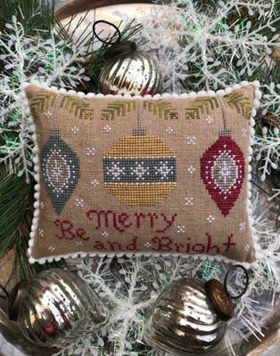 Be Merry and Bright - Cross Stitch Pattern