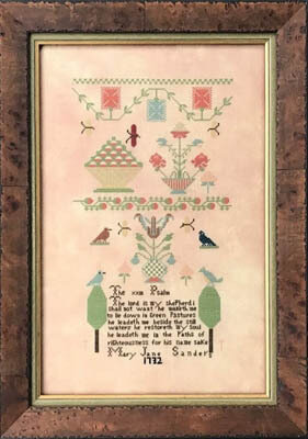Mary Jane Sanders 1732 - Cross Stitch Pattern
