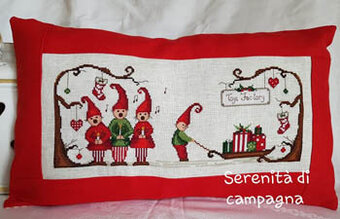 Merry Christmas Village - Cross Stitch Pattern