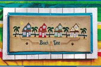 Beach Time - Cross Stitch Pattern