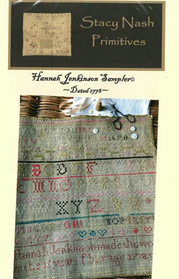 Hannah Jenkinson Sampler - Cross Stitch Pattern