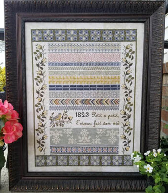 French Garden - Cross Stitch Pattern