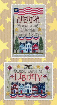 Preserving Liberty - Cross Stitch Pattern