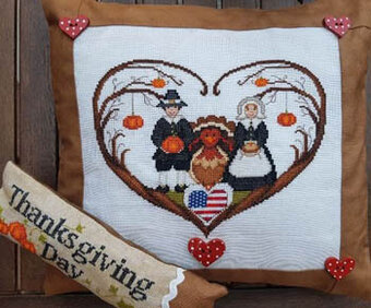 Couri Di Thankgsiving Day - Cross Stitch Pattern