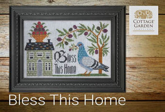 Bless This Home - Cross Stitch Pattern