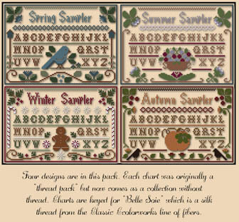 Seasons Samplers - Cross Stitch Pattern