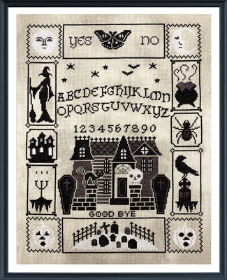 Halloween Ouija Part 5 - Cross Stitch Pattern