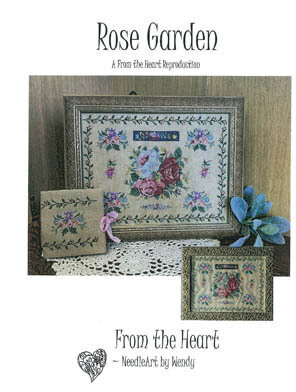 Rose Garden - Cross Stitch Pattern