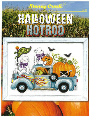 Halloween Hotrod - Cross Stitch Pattern