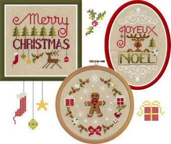 Crazy Noel - Cross Stitch Pattern