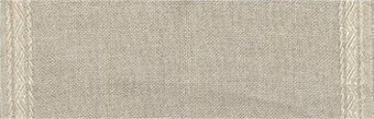 27 Count Natural Linen Banding w/Pyramid Design 7.8x36