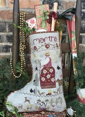 Martha's Stocking - Cross Stitch Pattern