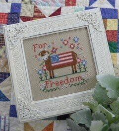 For Freedom - Cross Stitch Pattern