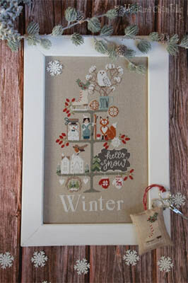 Celebrate Winter - Cross Stitch Pattern