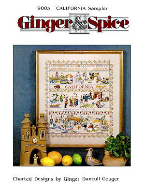 California Sampler - Cross Stitch Pattern