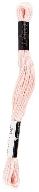 Soft Pink - Cosmo Cotton Embroidery Floss 8m