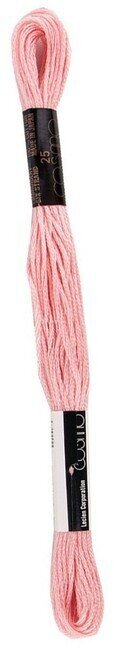 Impatiens Pink - Cosmo Cotton Embroidery Floss 8m
