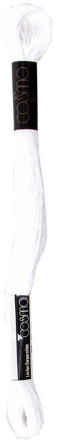 Md Vivid White - Cosmo Cotton Embroidery Floss 8m
