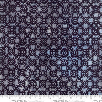 Kate Spain Calypso Batiks Midnight Black - Fat Quarter