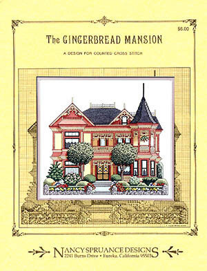 Gingerbread Mansion - Cross Stitch Pattern