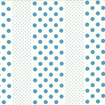 Blue Dots Orchard Kitchen Cotton Fabric Fat Quarter