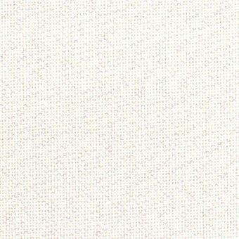 28 Count White Opalescent Lugana Fabric 36x55