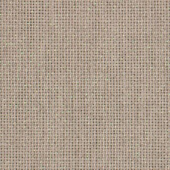 18 Count Opalescent/Raw Linen Aida Fabric 21x36