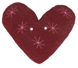 Plum Sparkle Heart