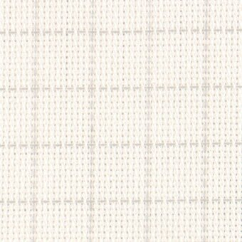 18 Count Easy Count White/Grey Aida 36x43
