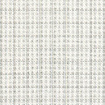 32 Count Easy Count Grid White/Grey Lugana Fabric 36x55