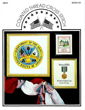 Army Insignia - Cross Stitch Pattern