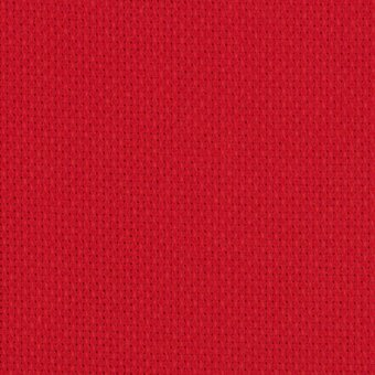 14 Count Christmas Red Aida Fabric 12x18