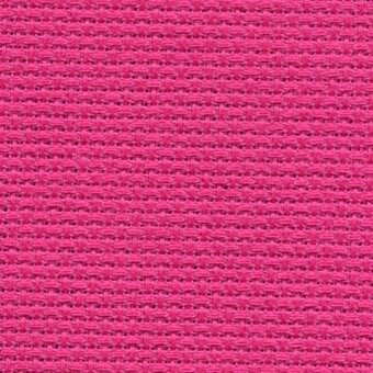 14 Count Raspberry Sorbet Aida Fabric 10x18