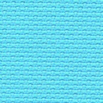 14 Count Alaskan Blue Aida Fabric 21x36