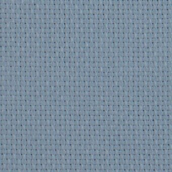 18 Count Light Antique Blue Aida Fabric 21x36