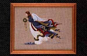Angel of Freedom - Cross Stitch Pattern
