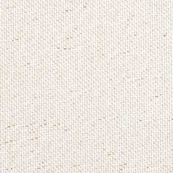25 Count White/Gold Lugana Fabric 36x55