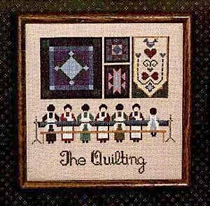 Quilting (The) - Cross Stitch Pattern