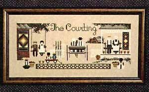 Courting (The) - Cross Stitch Pattern