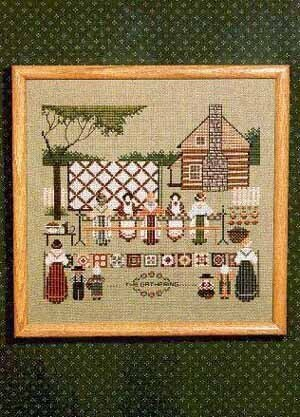 Piecemakers II - Cross Stitch Pattern