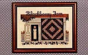Blackberry Jam - Cross Stitch Pattern