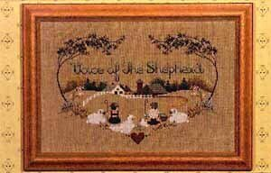 Voice Of The Shepherd - Cross Stitch Pattern