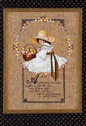Gathering Of Roses - Cross Stitch Pattern