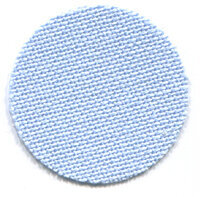 32 Count Light Blue Lugana Fabric 18x27