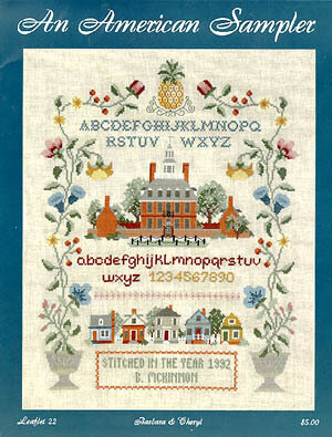 An American Sampler - Cross Stitch Pattern