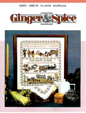 Great Plains Sampler - Cross Stitch Pattern