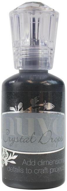 Nuvo Crystal Drops Collection - Ebony Black