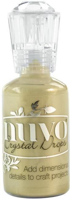 Nuvo Crystal Drops Collection - Pale Gold