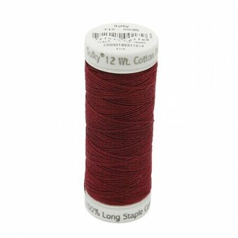 Merlot Wine - Sulky 12wt Cotton Petites Thread 50 yds