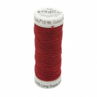Cabernet Red - Sulky 12wt Cotton Petites Thread 50 yds
